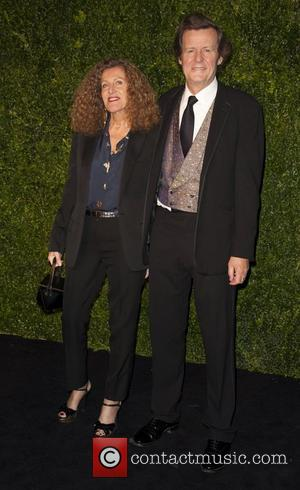 David Hare, Nicole Farhi and London Evening Standard Theatre Awards