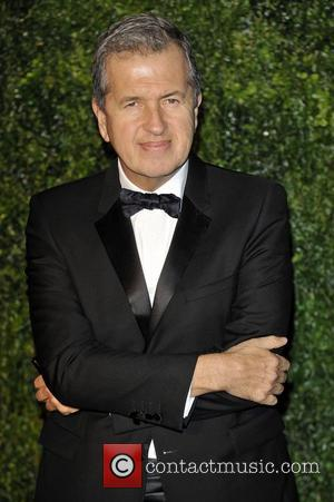 Mario Testino,  at the London Evening Standard Theatre Awards held at The Savoy London, England - 25.11.12