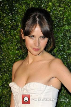 Felicity Jones and London Evening Standard Theatre Awards