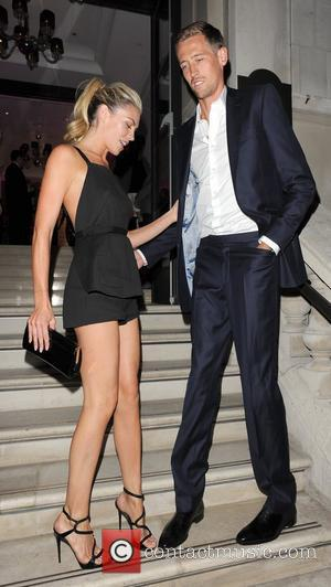 Abbey Crouch aka Abigail Clancy and Peter Crouch Esquire Menswear Fashion Collection Party held at the Corinthia Hotel - Outside...