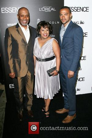 James Pickens Jr, Chandra Wilson and Jesse Williams 5th Annual ESSENCE Black Women In Hollywood Luncheon held at Beverly Hills...
