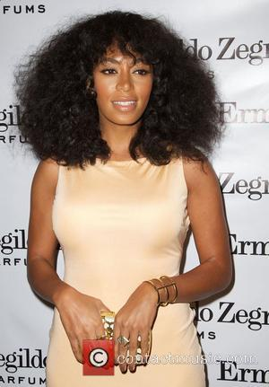 Solange Knowles,  at the Ermenegildo Zegna 'Essenze' Collection Launch event at The Ermenegildo Zegna Boutique. New York City, USA...
