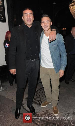 Tamer Hassan and Kirk Norcross enjoy a night out in Essex Essex, England - 04.05.12