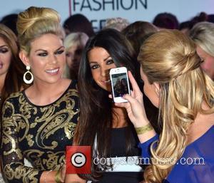 Frankie Essex, Cara Kilbey and Billi Mucklow Essex Fashion Week Spring/Summer 2013 - Inside Essex, England - 06.10.12