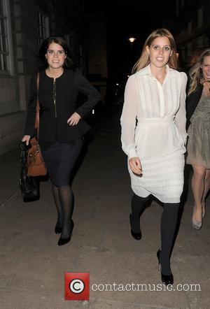 Princess Eugenie, Princess Beatrice and Lou Lou's