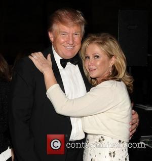 Donald Trump and Kathy Hilton