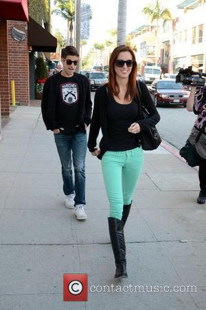 Eva Amurri Martino and her husband Kyle Martino out and about in Beverly Hills Los Angeles, California- 21.12.11