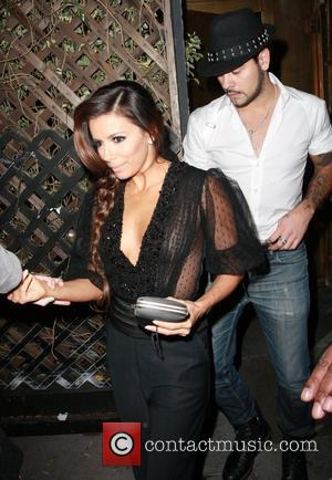 Eva Longoria leaving Beso restaurant  Los Angeles, California - 22.02.12