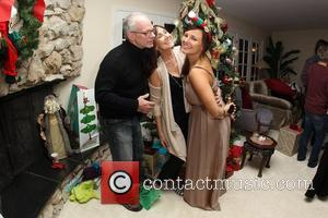 Uncle Steeve, Pam Evigan , Briana Evigan The Evigan Family Holiday party held at a private residence Los Angeles, California-...