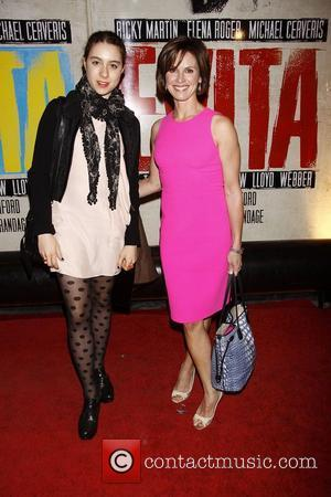 Elizabeth Vargas  Broadway opening night of 'Evita' at the Marquis Theatre – Arrivals.  New York City, USA –...