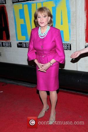 Barbara Walters  Broadway opening night of 'Evita' at the Marquis Theatre – Arrivals. New York City, USA – 05.04.12