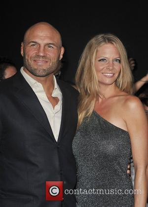 Randy Couture and Anne-Marie Stanley The Los Angeles Premiere of The Expendables 2 at Grauman's Chinese Theatre. Hollywood, California -...