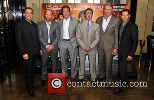Dolph Lundgren, Jason Statham, Jean Claude Van Damme, Sylvester Stallone