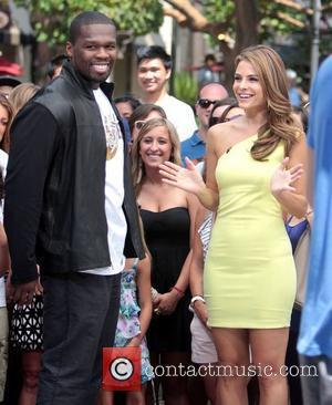 50 Cent and Maria Menounos