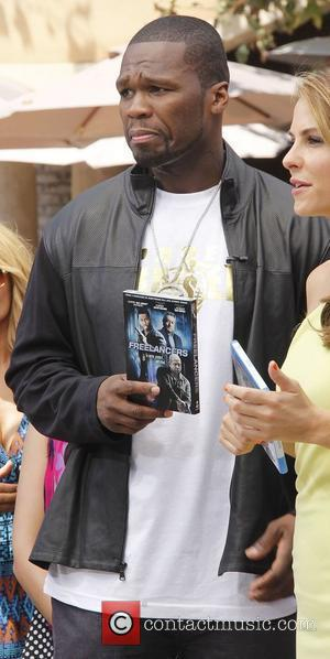 50 Cent,  at The Grove to appear on entertainment news show 'Extra' Los Angeles, California - 07.08.12
