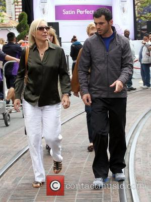 Martina Navratilova and Tony Dovolani 'Dancing With The Stars' duo Martina Navratilova and Tony Dovolani appear on 'Extra' at The...