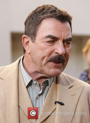 Tom Selleck Celebrities at The Grove ahead of their appearances on entertainment news show 'Extra' Los Angeles, California - 05.01.12
