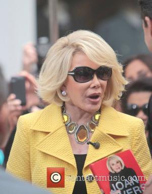 Joan Rivers  Celebrities at The Grove to appear on entertainment news show 'Extra'  Los Angeles, California - 14.06.12