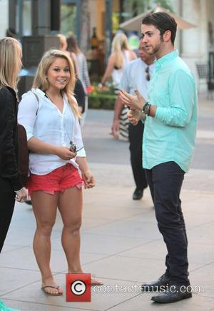 Shawn Johnson Celebrities at The Grove to appear on entertainment news show 'Extra' Los Angeles, California - 13.09.12