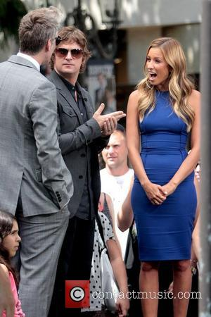 Kyle Cook and Rob Thomas of Matchbox Twenty at The Grove to appear on entertainment news show 'Extra' Los Angeles,...