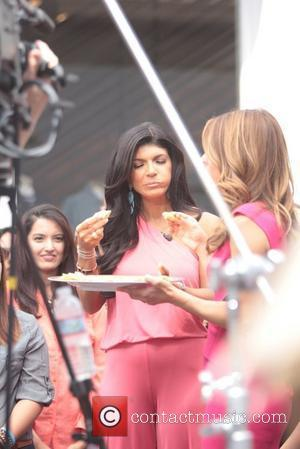 'The Real Housewives of New Jersey' Teresa Giudice Celebrities at The Grove to appear on entertainment news show 'Extra'...
