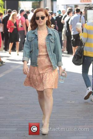 Jane Levy Celebrities at The Grove to appear on entertainment news show 'Extra'  Los Angeles, California - 26.10.12