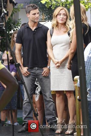 Colin Egglesfield and Sasha Alexander