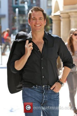 Michael Weatherly  seen at The Grove to appear on entertainment news show 'Extra' Los Angeles, California- 16.10.12