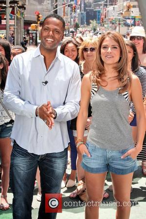 Maria Menounos and Aj Calloway