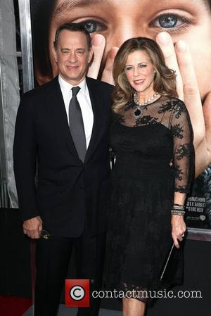 Tom Hanks, Rita Wilson and Ziegfeld Theatre
