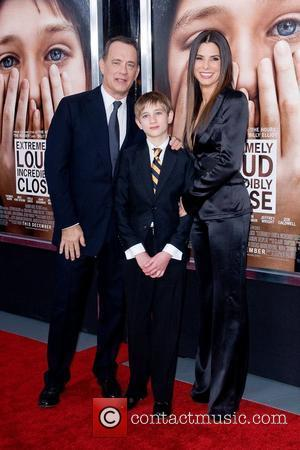 Sandra Bullock, Thomas Horn, Tom Hanks and Ziegfeld Theatre