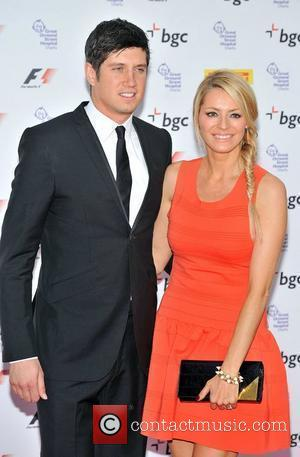 Vernon Kay and Tess Daly The F1 Party marking the official launch of the 2012 Formula 1 British Grand Prix...