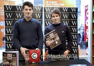 The Fabulous Baker Boys tom Herbert Tv's Newest Cookery Sensation, Brothers Henry and Tom Herbert Sign Copies Of Their Book...