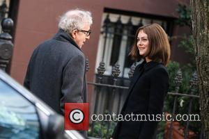 Vanessa Paradis and Woody Allen