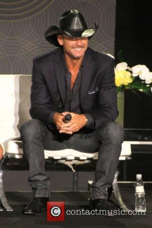 Tim McGraw   Country music superstars Tim McGraw and Faith Hill hold a town hall style press conference to...