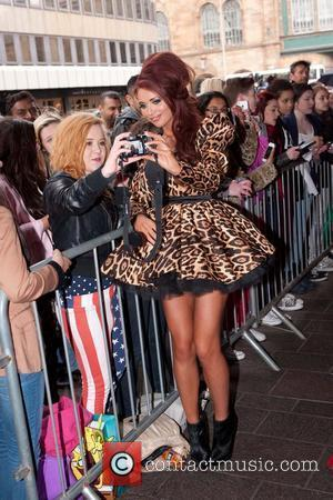 Amy Childs 'Fake Bake' celebrity ball at the Radisson hotel - Arrivals Glasgow, Scotland - 18.05.12