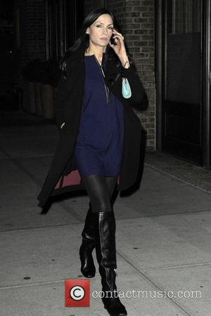 Famke Janssen seen out and about in Manhattan New York City, USA - 05.11.12