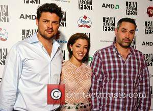 Karl Urban, Olivia Thirlby and Alex Garland