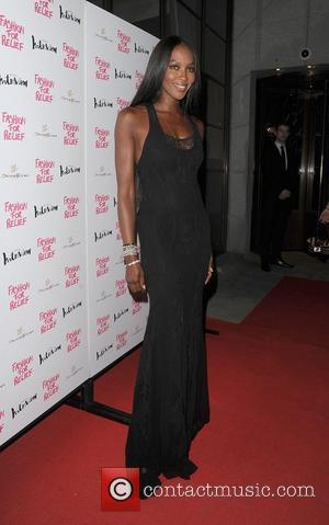 Naomi Campbell Fashion For Relief Party, held at Downtown Restaurant. London, England - 09.08.12