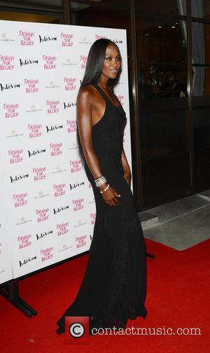 Naomi Campbell Hosts Olympics Fashion Event