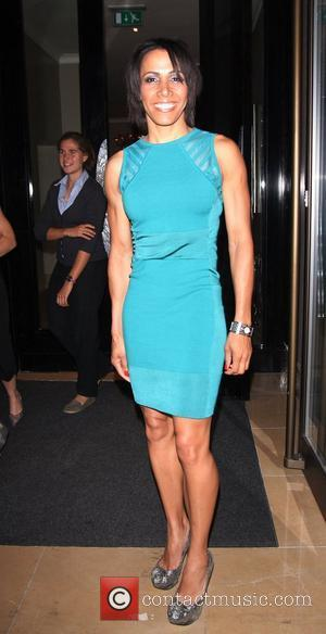 Dame Kelly Holmes at the screening of 'Fast Girls' at The May Fair Hotel London, England - 28.05.12