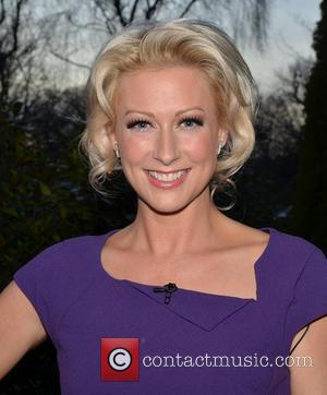 Steps singer Faye Tozer at RTE's Daily Show  Dublin, Ireland - 23.01.12
