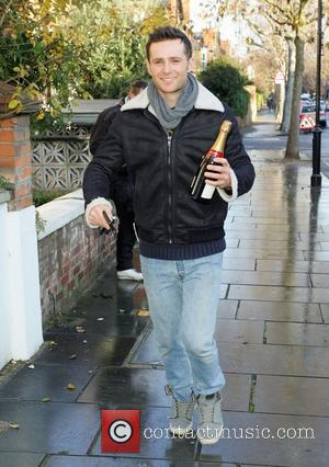 Harry Judd  leaving Fearne Cotton's house after her Christmas Party London, England - 22.12.11