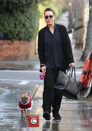 Gok Wan; Dolly Celebrities arrive at Fearne Cotton's house for her Radio 1 'At home with Fearne' Christmas Special...