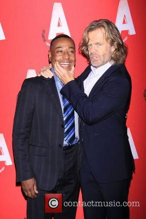 Giancarlo Esposito and William H. Macy attending the Atlantic Theater Company Linda Gross Theater Grand Reopening. New York City, USA...