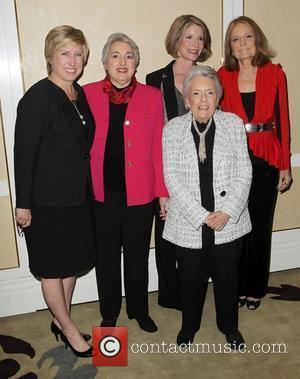 Wendy Greuel, Ellie Smeal, Peg Yorkin, Katherine Spillar, Gloria Steinem Feminist Majority's 25th & Ms. Magazine's 40th Anniversaries held at...