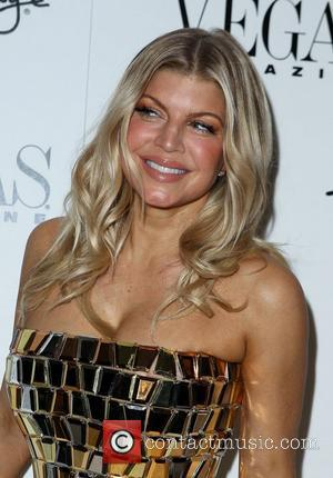 Fergie, real name Stacey Ferguson,  The New Year's Eve party at 1 OAK at The Mirage Hotel and Casino...