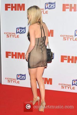 Laura Whitmore FHM 100 Sexiest Women in the World 2012 Party held at the Proud Cabaret - Arrivals. London, England...