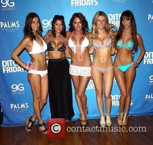 Vanessa Hanson, Arianny Celeste, Rachelle Leah, Chrissy Blair, Kenda Perez UFC Fight Week Pool Party at The Palms Casino Hotel....