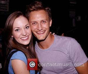 Laura Osnes and Nathan Johnson Benefit concert entitled Voices for 'Find My Voice.Org' held at The Duplex piano bar and...